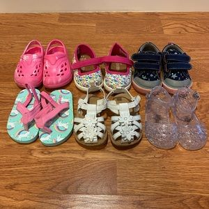 Toms Shoes - Girls toddler shoes size 4 lot